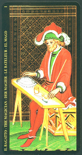 INTUITING TAROT AND JUNG: Card I (The Magician