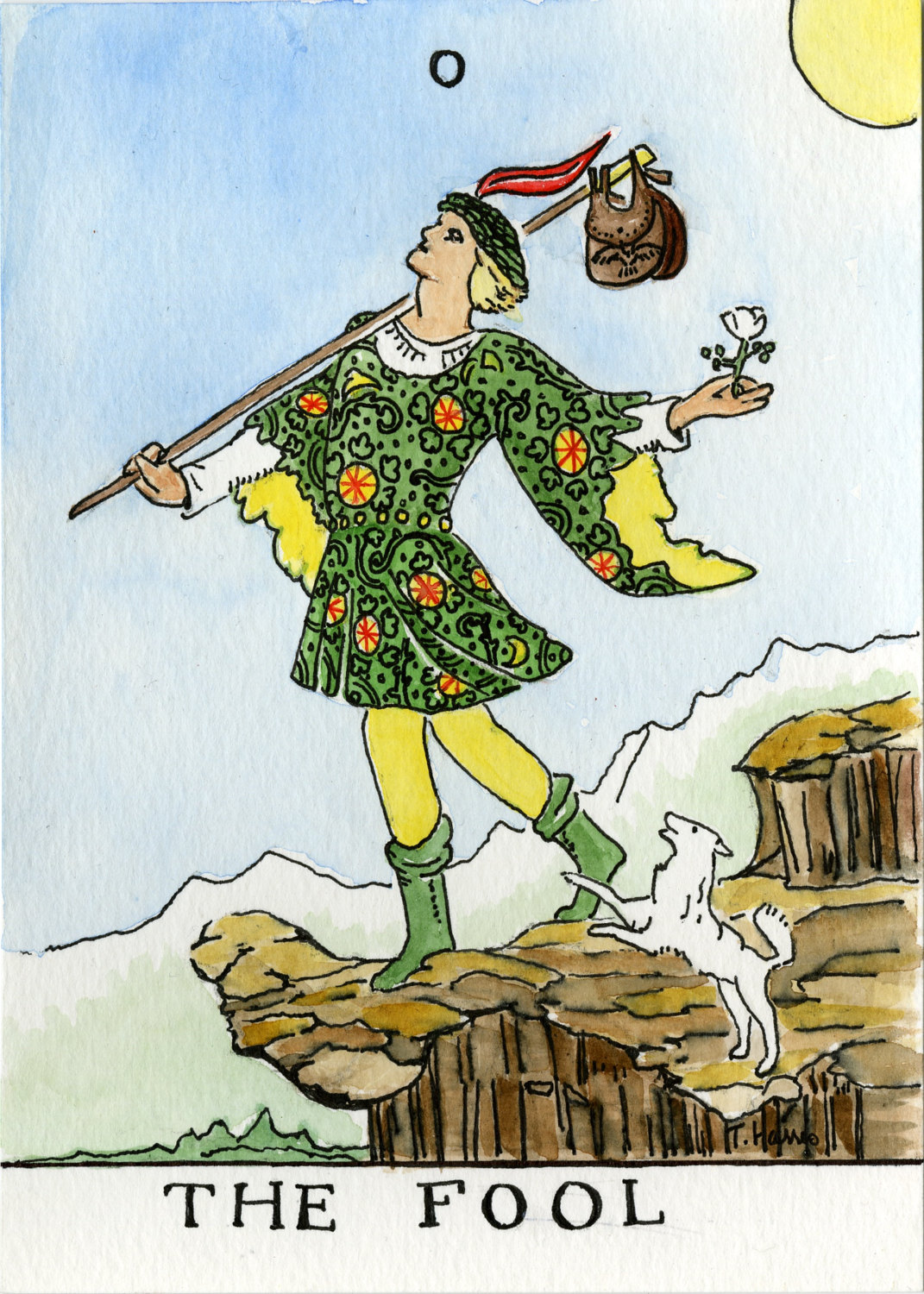 The Fool: INTUITING TAROT AND JUNG: Card 0 (The Fool